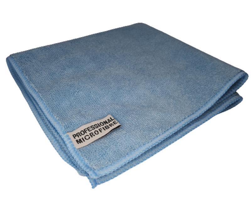 E-CS Mikrovláknová utěrka- modrá švédská utěrka 40 x 40cm 380 g/m2 (Extra jemná, extra savá- švédská utěrka z mikrovlákná která vydrží až 1000x vyprání)